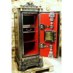 Антикварный сейф Schmidt safe, c 1885, Hamburg - Germany