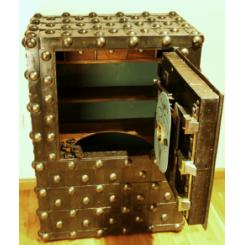Антикварный сейф 1820года, Франция