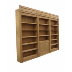 Дверь в виде книжного шкафа для хранилища с электромагнитным замком
