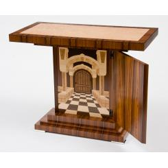 Стол с тайниками Art Deco Table with Trompe L'oeil Interior