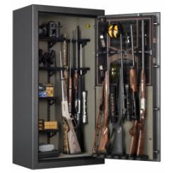 """Огневзломостойкий Оружейный Сейф Browning SP15FE """"Hunter"""" EL (серый)"""