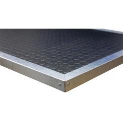 Цена добавления Резиновое покрытие с оцинкованным кантом (1500) к столешнице OSB- 25 мм