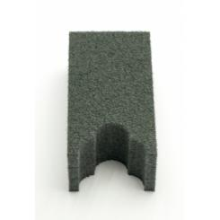 Ложемент для Ружья с Оптикой в Оружейный Сейф-Шкаф на 1 ствол