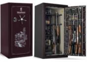 """Сейф для зброї BROWNING """"Medallion"""" M28F вишневий CL"""