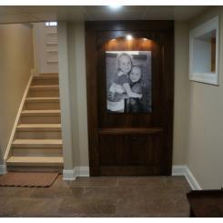 Тайная дверь в секретную комнату