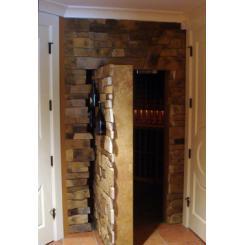 Каменные двери для потайной комнаты с электромагнитным замком
