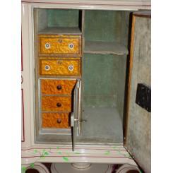Антикварный сейф 1871года Herring Safe Co. с механическим кодовым замком