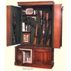 Шкаф с сейфом-тайником для оружия