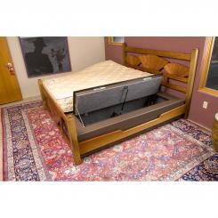 Сейф для оружия в диване. Встроенный сейф для ружья в диване