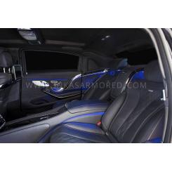 Бронированный автомобиль MERCEDES-MAYBACH S600