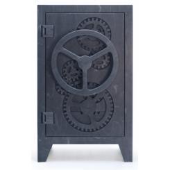 Дизайнерский деревянный сейф сделанный на ЧПУ