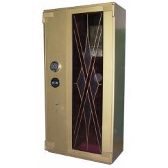 Оружейный сейф под заказ с бронебойным стеклом ОР-СТ