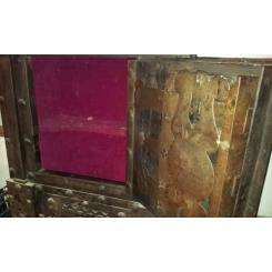 Антикварный сейф начала 1800гг производство Германия/Италия