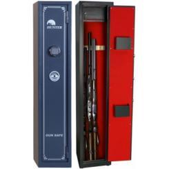Сейф для оружия на 3-5 стволов G.300.E (аварийный ключ флешка)