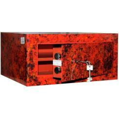 Мебельный Сейф GRIFFON M.20.К graphite red