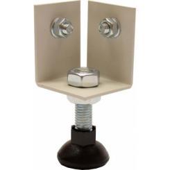 Металлический подпятник с регулируемой опорой