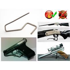 Подставка Держатель под Пистолет/Ружье №3 на 1 единицу из нержавеющей стали