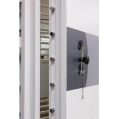 Огневзломостойкие двери хранилищ KASO VD6 WHITE