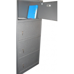 Офисный Сейф R4.170.K на 4 секции