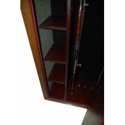 Сейф для оружия с отделкой деревом D16 (люкс, размер №2)