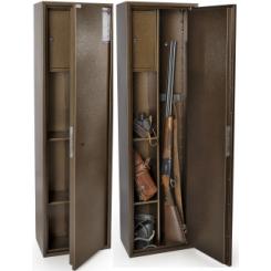 Оружейный сейф на 3 ствола Е-137К1.Т1.П2.8004