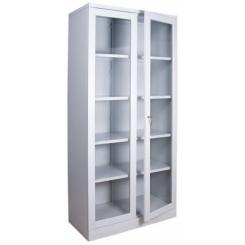 Металлический Шкаф ШМ-17 (со стекляными дверьми)