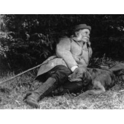 Франц Карлович Сан-Галли на охоте