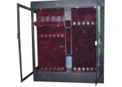 Оружейный шкаф-сейф в оружейную комнату на заказ